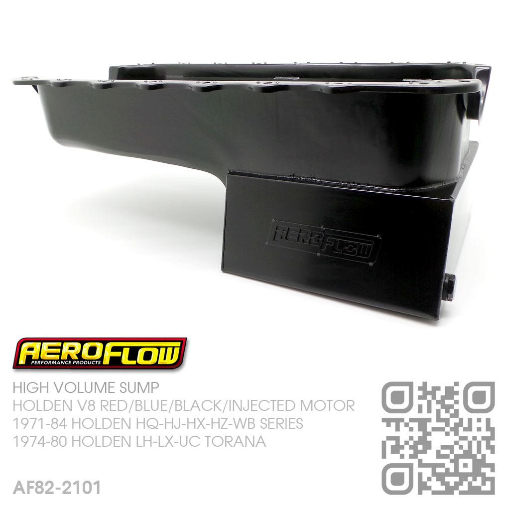 AEROFLOW 6 5L HIGH VOLUME SUMP [HOLDEN V8 253-308 BLUE & 304-355