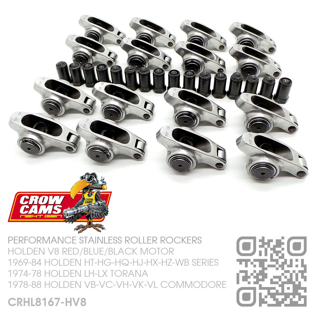 CROW CAMS PERFORMANCE 1.6 RATIO STAINLESS 7/16