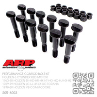 "ARP PERFORMANCE 5/16"" CONROD BOLT SET [HOLDEN 6-CYL RED MOTOR]"