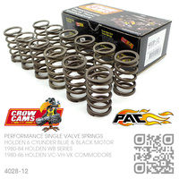 CROW CAMS PERFORMANCE SINGLE VALVE SPRING SET [HOLDEN 6-CYL BLUE & BLACK MOTOR]