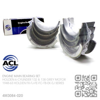 "ACL ENGINE MAIN BEARING SET -0.020"" UNDERSIZE [HOLDEN 6-CYL 132 & 138 GREY MOTOR]"