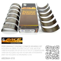 "ACL RACE SERIES PERFORMANCE CONROD BEARINGS SET -0.010"" UNDERSIZE [HOLDEN V6 3800, ECOTEC & SUPERCHARGED 3.8L MOTOR]"