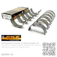 ACL RACE SERIES PERFORMANCE CONROD BEARINGS SET -0.500mm UNDERSIZE [HOLDEN 6-CYL RB30E & RB30ET TURBO 3.0L MOTOR]