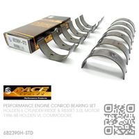ACL RACE SERIES PERFORMANCE CONROD BEARINGS SET STANDARD SIZE [HOLDEN 6-CYL RB30E & RB30ET TURBO 3.0L MOTOR]