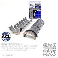 "ACL DURAGLIDE MAIN BEARINGS SET -0.020"" UNDERSIZE [HOLDEN 6-CYL 138-149-161-173-179-186 RED MOTOR]"