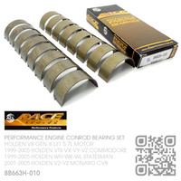 "ACL RACE SERIES PERFORMANCE CONROD BEARINGS SET -0.010"" UNDERSIZE [HOLDEN V8 GEN III LS1 5.7L MOTOR]"
