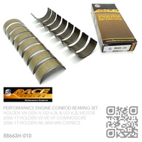 "ACL RACE SERIES PERFORMANCE CONROD BEARINGS SET -0.010"" UNDERSIZE [HOLDEN V8 GEN IV LS2 6.0L & LS3 6.2L MOTOR]"