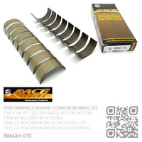 "ACL RACE SERIES PERFORMANCE CONROD BEARINGS SET -0.010"" UNDERSIZE [CHEV V8 307-327-350 SMALL BLOCK MOTOR]"