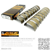 ACL RACE SERIES PERFORMANCE CONROD BEARINGS SET STANDARD SIZE [CHEV V8 307-327-350 SMALL BLOCK MOTOR]