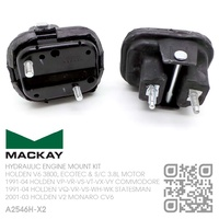 MACKAY HYDRAULIC ENGINE MOUNT SET [HOLDEN V6 3800, ECOTEC & SUPERCHARGED 3.8L MOTOR]