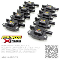 AEROFLOW X-PRO PERFORMANCE IGNITION COIL SET [HOLDEN V8 GEN IV LS2 6.0L & LS3 6.2L MOTOR]