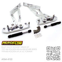AEROFLOW BILLET ALLOY BONNET HINGE KIT [HQ-WB][LH-UC]