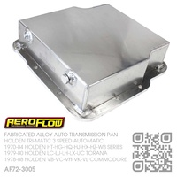"AEROFLOW FABRICATED ALLOY 3.25"" DEEP TRANSMISSION PAN [HOLDEN TRI-MATIC AUTOMATIC]"