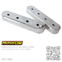 AEROFLOW FABRICATED ALLOY ROCKER COVERS [HOLDEN V8 GEN III LS1 5.7L, GEN IV LS2 6.0L & LS3 6.2L MOTOR]