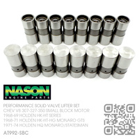 NASON PERFORMANCE SOLID VALVE LIFTER SET [CHEV V8 307-327-350 SMALL BLOCK MOTOR]