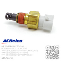 ACDELCO AIR TEMPERATURE SENSOR [HOLDEN V6 3800 3.8L MOTOR]