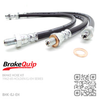BRAKEQUIP RUBBER HYDRAULIC BRAKE HOSE KIT [EJ-EH]