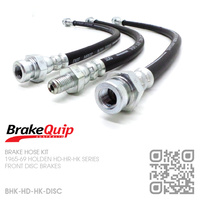BRAKEQUIP RUBBER HYDRAULIC BRAKE HOSE KIT [HD-HK][DISC]