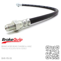 BRAKEQUIP RUBBER HYDRAULIC BRAKE HOSE REAR [FB-EK][CHASSIS to AXLE]