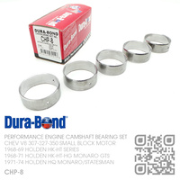 DURA-BOND PERFORMANCE CAMSHAFT BEARING SET [CHEV V8 307-327-350 SMALL BLOCK MOTOR]