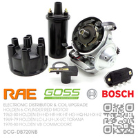 RAE ELECTRONIC DISTRIBUTOR WITH BOSCH IGNITION MODULE & GOSS COIL [HOLDEN 6-CYL RED MOTOR]