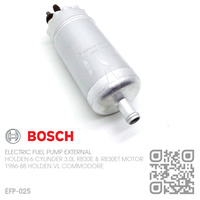 BOSCH ELECTRONIC EXTERNAL FUEL PUMP [HOLDEN 6-CYL RB30E & RB30ET TURBO 3.0L MOTOR]