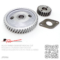 JP PERFORMANCE ALLOY TIMING GEAR SET [HOLDEN 6-CYL 132 & 138 GREY MOTOR]