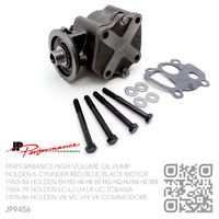 JP PERFORMANCE HIGH VOLUME OIL PUMP [HOLDEN 6-CYL RED/BLUE/BLACK MOTOR]