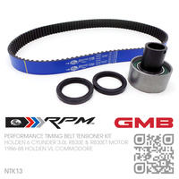GATES RACING & GMB PERFORMANCE TIMING BELT KIT [HOLDEN 6-CYL RB30E & RB30ET TURBO 3.0L MOTOR]