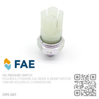 FAE OIL PRESSURE SWITCH [HOLDEN 6-CYL RB30E & RB30ET TURBO 3.0L MOTOR]