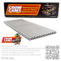 "CROW CAMS PERFORMANCE 5/16"" SUPERDUTY PUSHRODS [HOLDEN 6-CYL 173 & 202 RED/BLUE/BLACK MOTOR]"