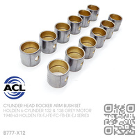 ACL CYLINDER HEAD ROCKER ARM BUSH SET [HOLDEN 6-CYL 132 & 138 GREY MOTOR]