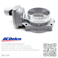 ACDELCO FLY-BY-WIRE THROTTLE BODY [HOLDEN V8 GEN IV LS2 6.0L MOTOR]