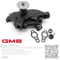 GMB WATER PUMP [CHEV V8 307 & 327 TYPE 1 SMALL BLOCK MOTOR]