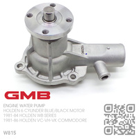 GMB WATER PUMP 'JUMBO' [HOLDEN 6-CYL 173 & 202 BLUE/BLACK MOTOR]