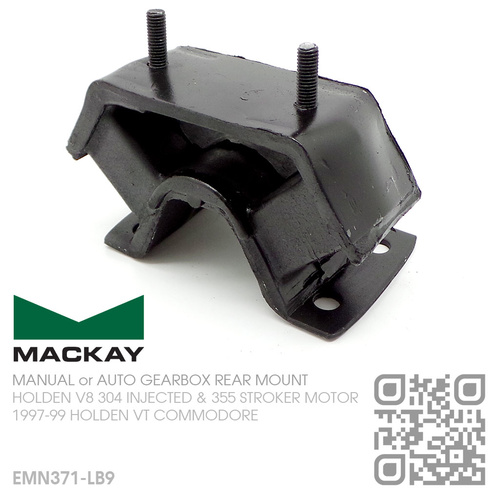 MACKAY MANUAL or AUTO GEARBOX REAR MOUNT [HOLDEN V8 304 INJECTED 5.0L & 355 STROKER 5.7L MOTOR]